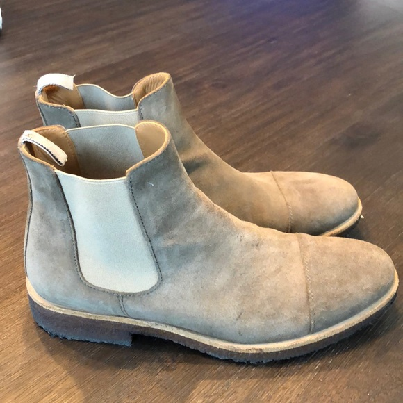Taft Shoes - TAFT Boots - The Outback Boot in Taupe